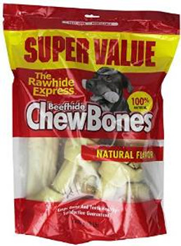 Rawhide Express Value Pack White Assorted 3#