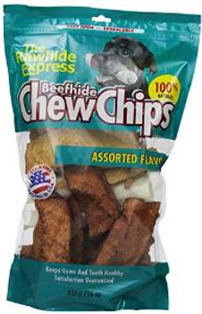 Rawhide Express Assorted Flavors Chips 1 Lb. Bag