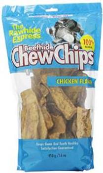 Rawhide Express Chicken Rawhide Chips 1 Lb.