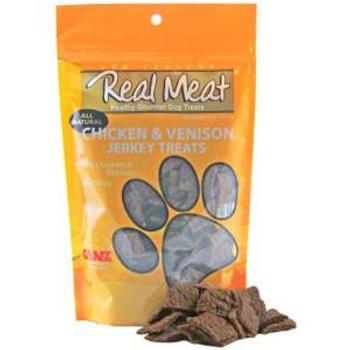 The Real Meat Company Dog Jerky Treats Chicken/venison 12 Oz.