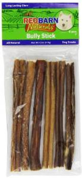 """Red Barn Bully Stick 7"""" 6 Pack"""