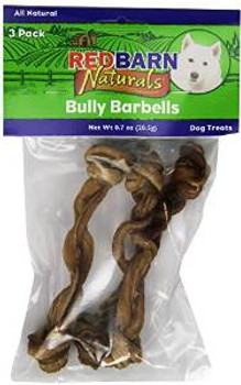 Red Barn Bully Mini Barbells 3 Pack 15/case
