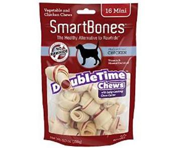 Smartbones Doubletime Bones Chicken Mini 16 Pk