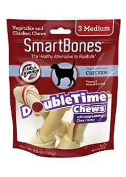 Smartbones Doubletime Bones Chicken Medium 3 Pk