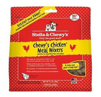 Stella & Chewy's Freeze-dried Chewy's Chicken Meal Mixers - 3.5 Oz.