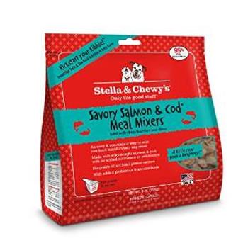 Stella & Chewy's Freeze-dried Savory Salmon & Cod Meal Mixers - 9 Oz.