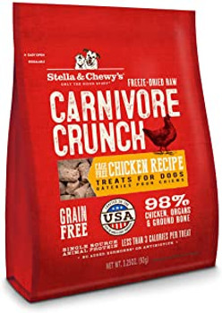 Stella & Chewy's 3.25 oz. Carnivore Crunch For Dogs - Chicken {L+1x} 860113