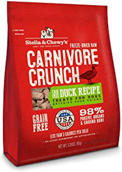 Stella & Chewy's 3.25 oz. Carnivore Crunch For Dogs - Duck {L+1x} 860114