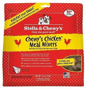 Stella & Chewy's Freeze-dried Chewy's Chicken Meal Mixers - 18 Oz.