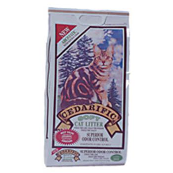 NorthEastern Cedarific Natural Cedar Chips Cat Litter 7.5 lb Bag -88342