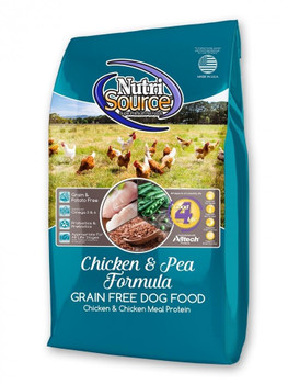 """NutriSource Grain Free Chicken Formula is scientifically formulated to provide the optimal nutrition and easy digestion. Chicken is the number one ingredient in this recipe, providing high quality protein to help your pet maintain muscle mass and str"""""""