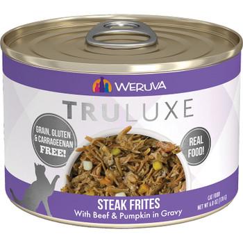 Weruva Truluxe Steak Frites Cat 24/5.5oz. {L-x} 784104