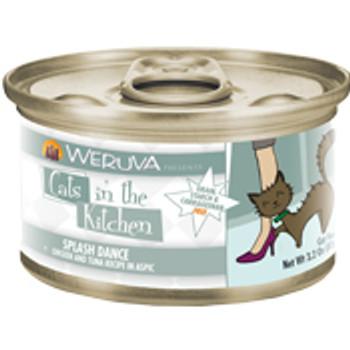 Weruva Chicken & Ocean Fish Recipe Au Jus Can Splash Dance Cat 24/3.2oz. {L-x} 784086