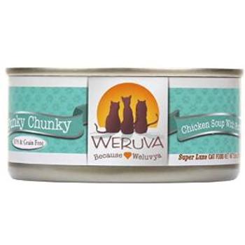 Weruva Funky Chunky Canned Cat 24/5.5 Oz.
