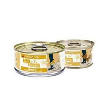 Weruva Chicken & Salmon Recipe Au Jus Cans Goldie Lox Cat 24/3.2 Oz.