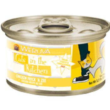 Weruva Chicken Recipe Au Jus Cans Chicken Frick 'a Zee Cat 24/3.2oz. {L-x} 784088