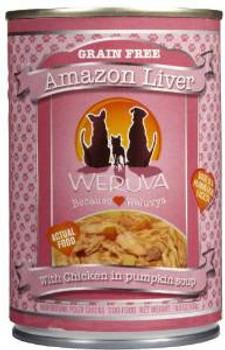 Weruva Amazon Liver Can Dog 12/14 Oz.