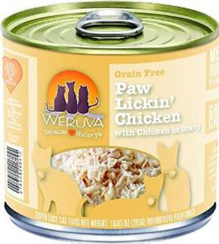 Weruva Cat Paw Lickin' Chicken 12/10 Oz.