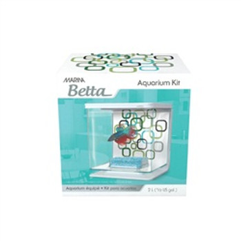 Marina Betta Kit Geo Bubbles Theme{requires 3-7 Days before shipping out}
