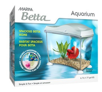 Marina Betta Aquarium Kit {requires 3-7 Days before shipping out}