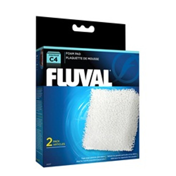 Fluval C4 Foam Pad 2 Pack {requires 3-7 Days before shipping out}