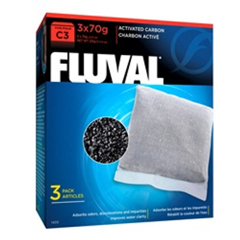 Fluval C3 Carbon 3 Pack{requires 3-7 Days before shipping out}