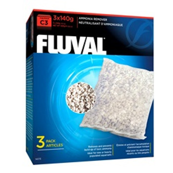 Fluval C3 Ammonia Remover 3 Pack {requires 3-7 Days before shipping out}