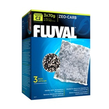 Fluval C2 Zeo-carb 3 Pack {requires 3-7 Days before shipping out}