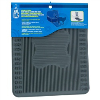 Catit Litter Pan Mat Grey{requires 3-7 Days before shipping out}