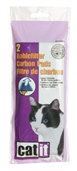 Catit Carbon Pads/hooded C/pan 2/pk {requires 3-7 Days before shipping out}