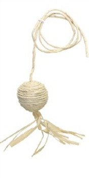 Catit Cornhusk And Raffia Cat Toy-ball{requires 3-7 Days before shipping out}