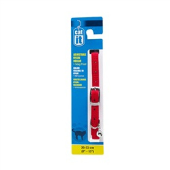 Catit Adjustable Collar 8-13in Red{requires 3-7 Days before shipping out}