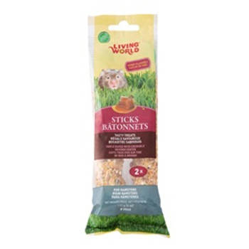 Living World Hamster Honey Sticks 4 Oz {requires 3-7 Days before shipping out}