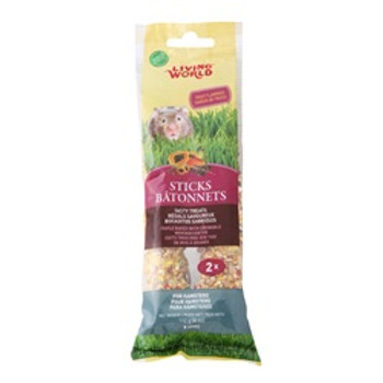 Living World Hamster Fruit Sticks 4 Oz {requires 3-7 Days before shipping out}