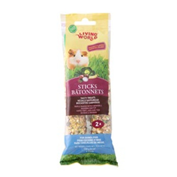 Living World Guinea Pig Veggie Stick 4oz {requires 3-7 Days before shipping out}