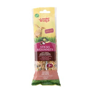 Living World Rabbit Veggie Sticks 4 Oz {requires 3-7 Days before shipping out}