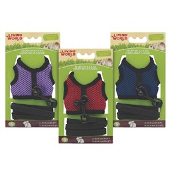 Living World Harness/lead Sm Asst Colors {requires 3-7 Days before shipping out}