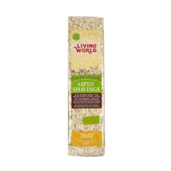 Living World Aspen Shavings 600 Cu Inch {requires 3-7 Days before shipping out}