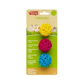 Lw Nibblers Willow Chews Balls{requires 3-7 Days before shipping out}