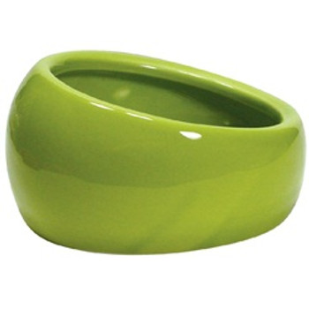 Living World Ergonomic Dish Green Lg {requires 3-7 Days before shipping out}