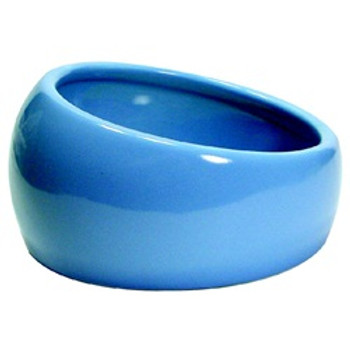 Living World Ergonomic Dish Blue Lg {requires 3-7 Days before shipping out}