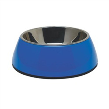 Dogit 2 In 1 Durable Bowl Medium Blue {requires 3-7 Days before shipping out}