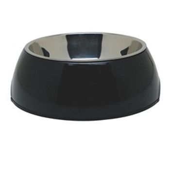 Dogit 2 In 1 Durable Bowl Medium Black{requires 3-7 Days before shipping out}