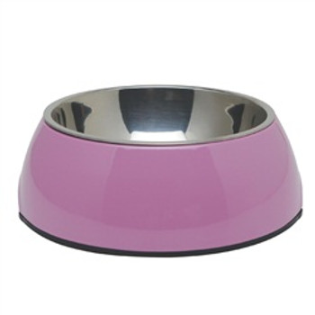 Dogit 2 In 1 Durable Bowl Large Pink {requires 3-7 Days before shipping out}