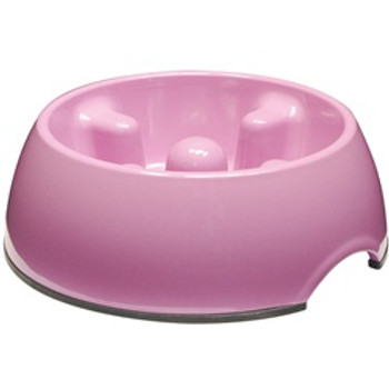 Dogit Go Slow Anti-gulping Bowl pink Sm {requires 3-7 Days before shipping out}