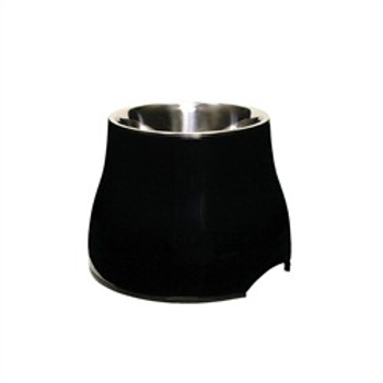 Dogit Elevated Dish Black Lg{requires 3-7 Days before shipping out}