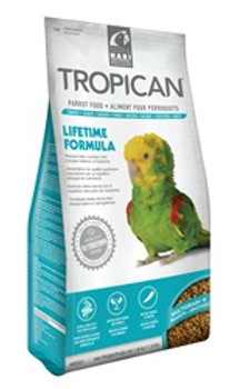 Tropicanlifetime Granules F/parrots 4lb {requires 3-7 Days before shipping out}