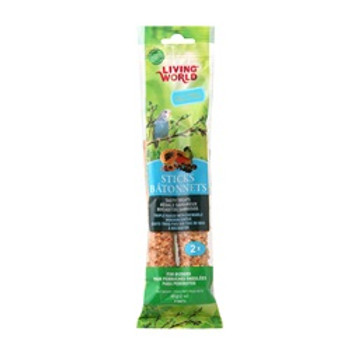 Living World Budgies Fruit Stick 2 Oz {requires 3-7 Days before shipping out}