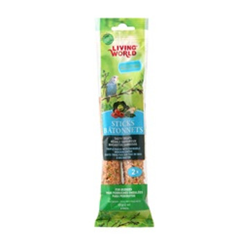 Living World Budgies Veggie Stick 2 Oz{requires 3-7 Days before shipping out}