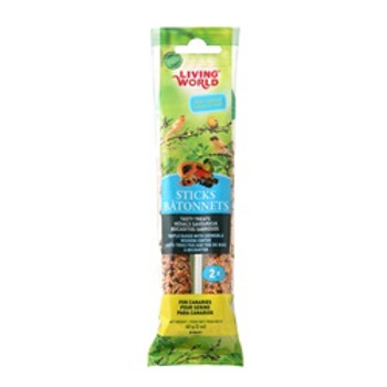 Living World Canary Fruit Sticks 2 Oz {requires 3-7 Days before shipping out}